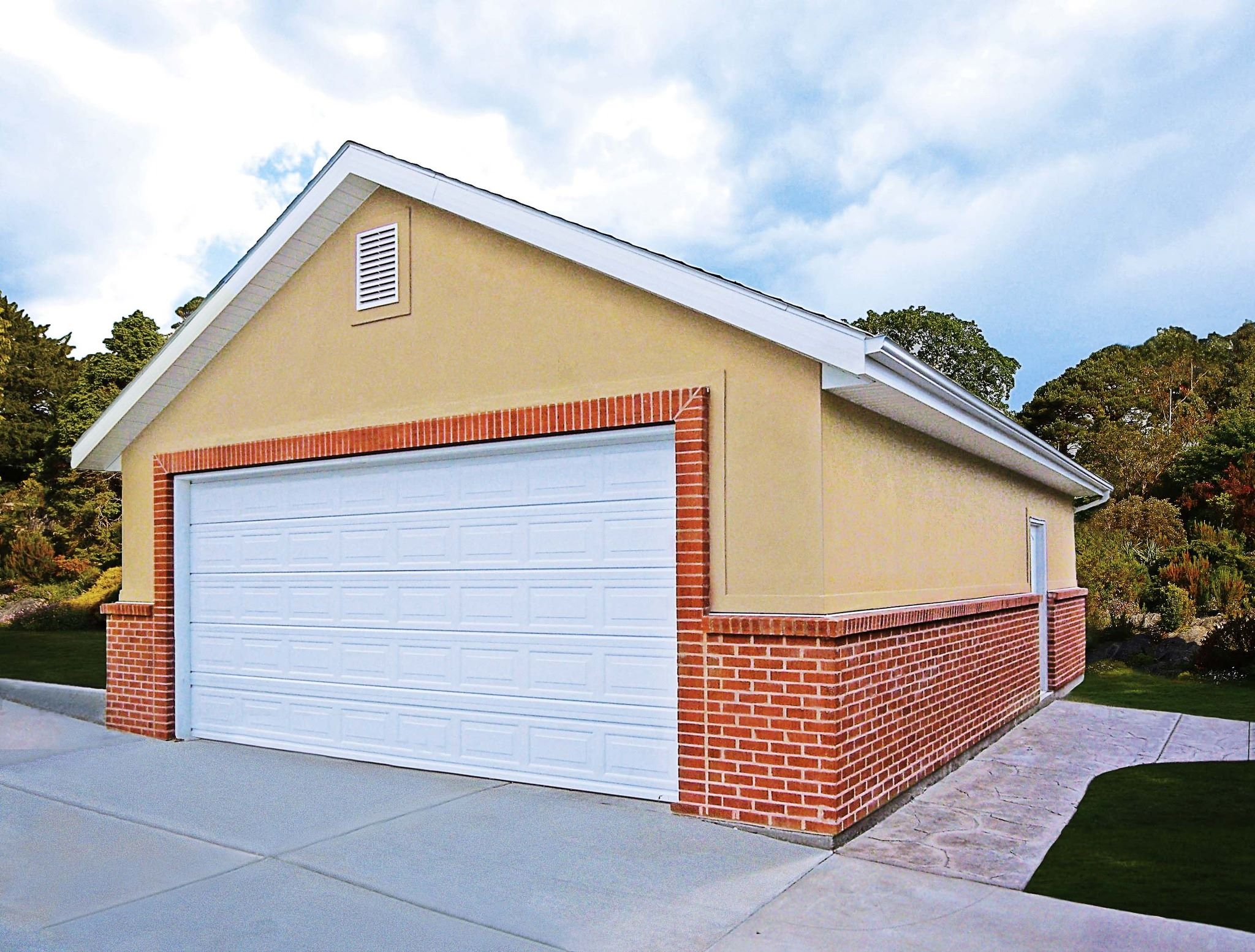 Tuff shed america s most trusted shed garage brand for Stucco garage