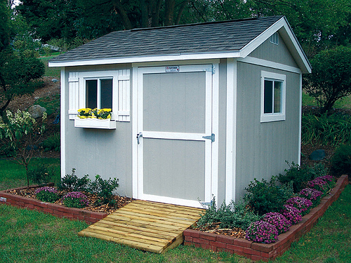 Tuff shed america s most trusted shed garage brand for How to make a small garage