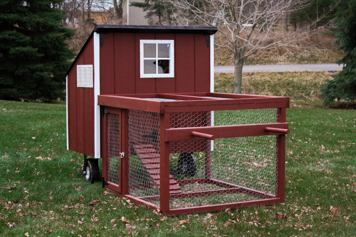 New chicken coops at homefield for Portable coop
