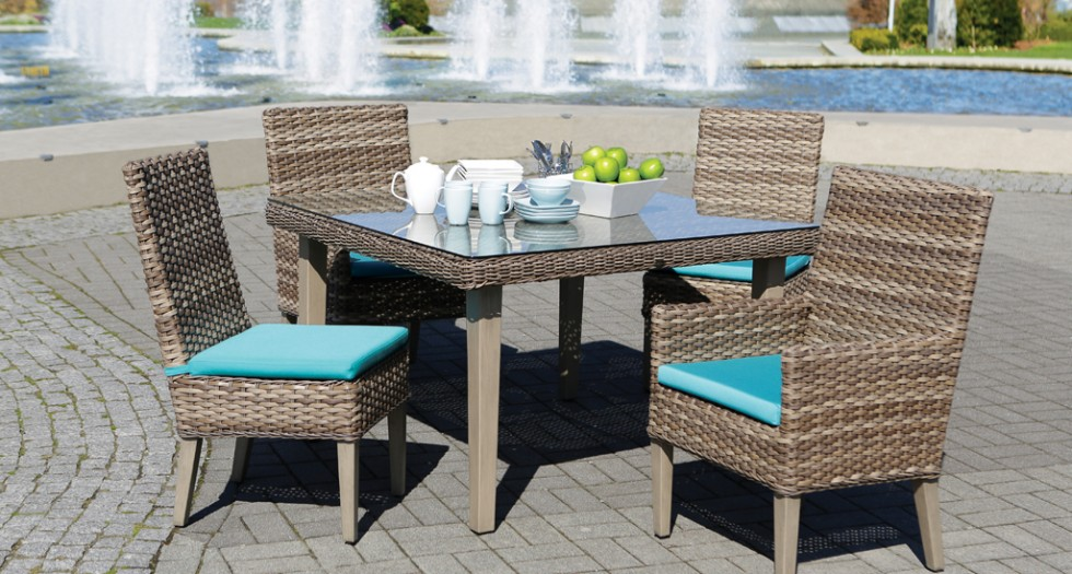 3 tips for choosing patio furniture for Sofas mimbre exterior