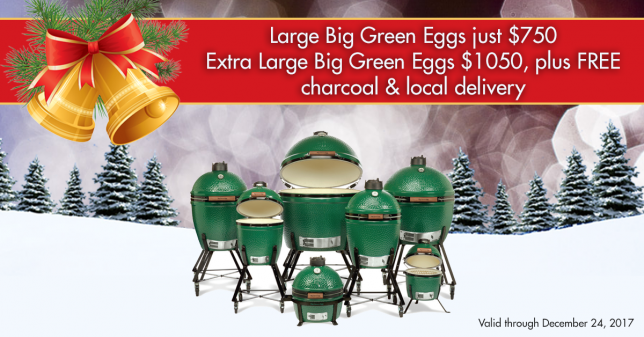 Big Green Egg December To Remember 2017