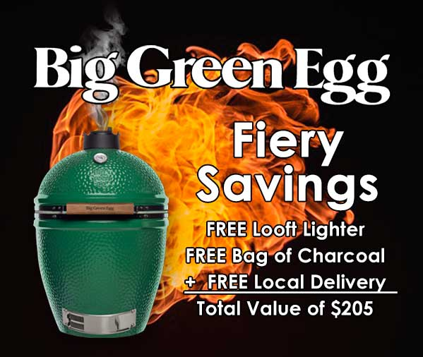 Big Green Egg Fiery Savings
