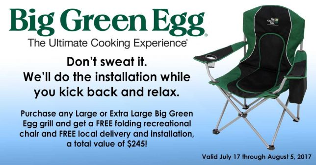 Big Green Egg Sale Free Delivery
