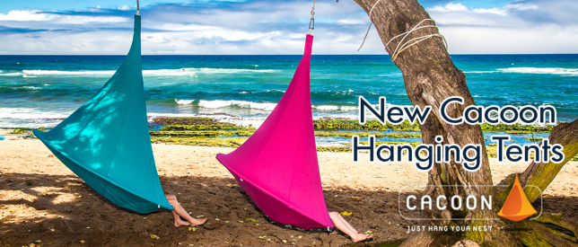 New from HOMEFIELD - Cacoon Hanging Tents