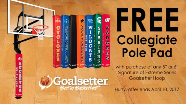 Goalsetter Free Pole Pad March Promo