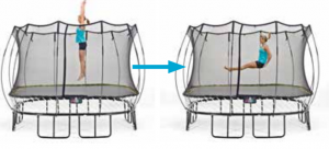 Springfree Trampoline Exercise Seat Drop