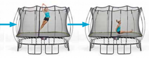 Springfree Trampoline Exercise Swivel Hips