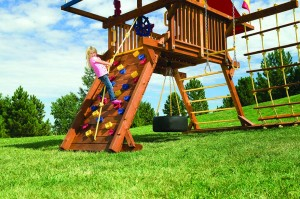 Rainbow Play Systems For Unlevel Yards