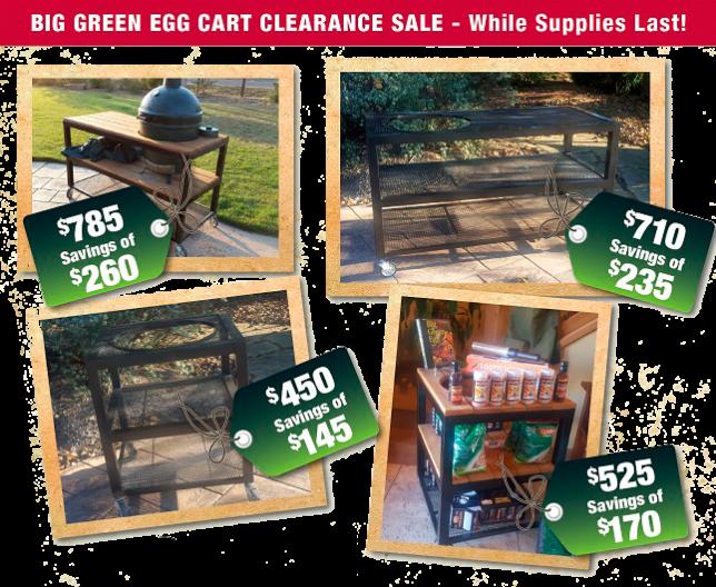 Big Green Egg Cart Clearance