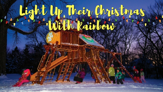 Light Up Your Rainbow At Christmas