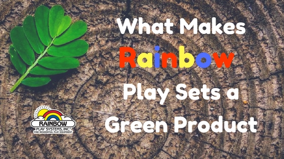 What Makes Rainbow Green