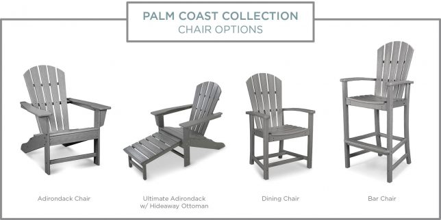 Palm Coast Collection Chair Options
