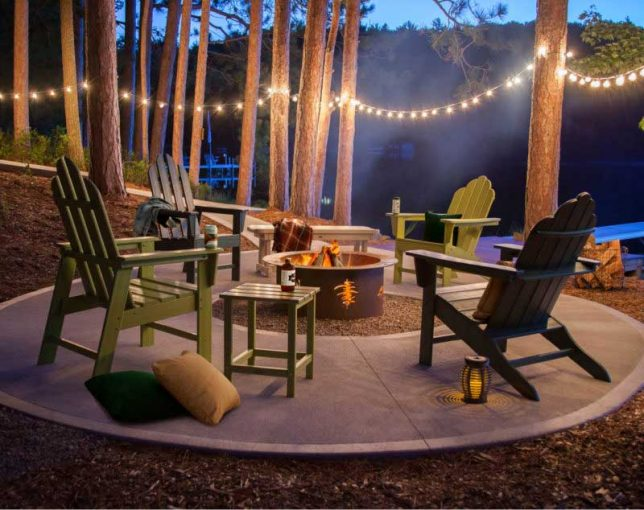Long Island Patio Furniture Fire Pit