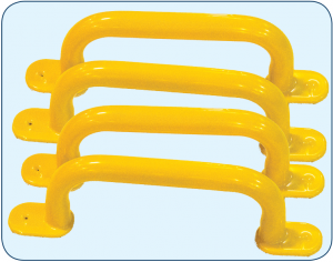 Plastisol Dipped Safety Handles