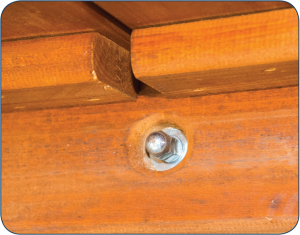 Recessed Safety Capped Hardware